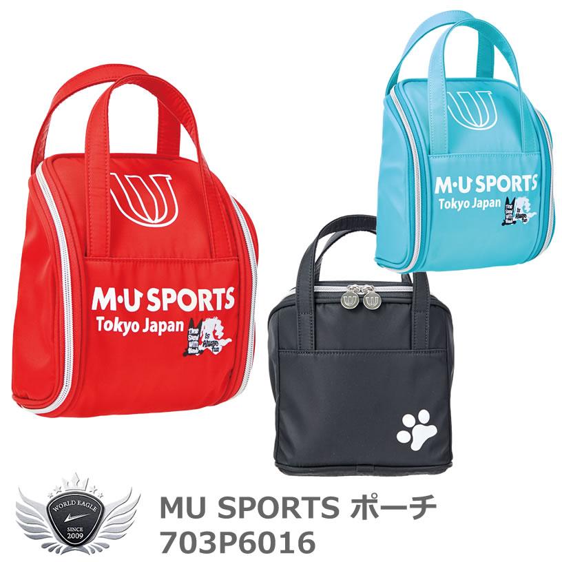 MU SPORTS エムユースポーツ ポーチ 703P6016