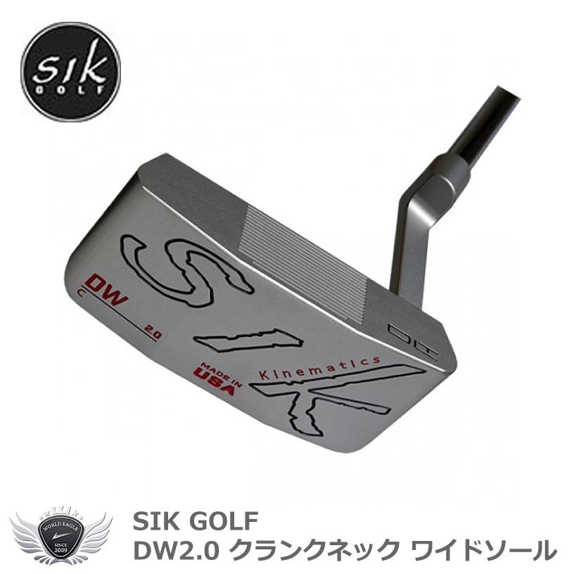 SIK GOLF DW2.0 クランクネック ワイドソール
