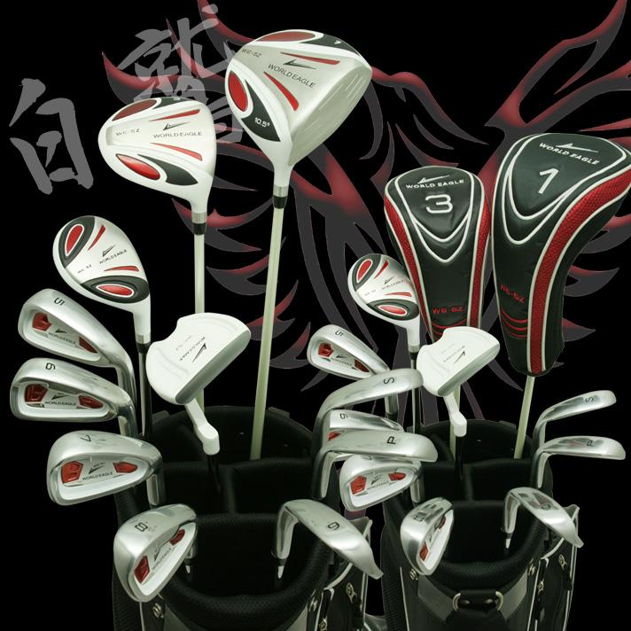 ワールドイーグル 5Z-WHITE メンズゴルフクラブ14点フルセット 【右用フレックスR】【送料無料】【0824カード分割】【あす楽】