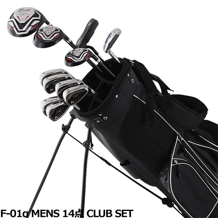 ワールドイーグル F-01α メンズ14点ゴルフクラブセットフレックスR /S【右用】【初心者 初級者 ビギナー】【送料無料】【パーゴルフ3 原田伸郎】【0824カード分割】【あす楽】