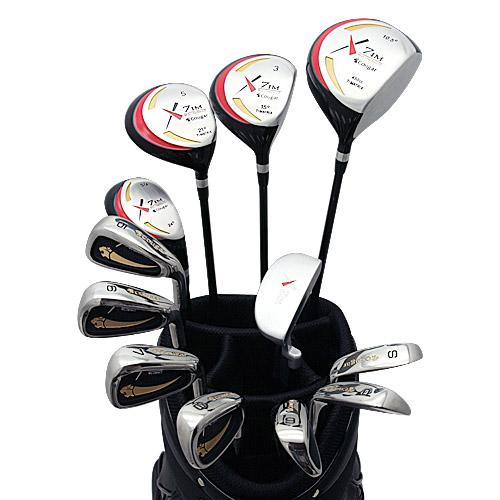 心地よくプレイしたい!X7CB1 メンズ17点ゴルフクラブセット【右用/フレックスR/S】【ワールドイーグル】【初心者 初級者 ビギナー】【送料無料】【0824カード分割】【あす楽】