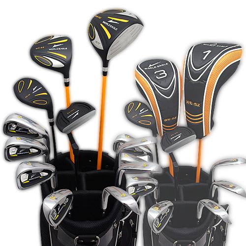 ワールドイーグル 5Z-BLACK メンズゴルフクラブ14点フルセット 4色から選べるバッグ!右用