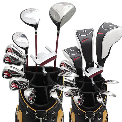 ワールドイーグル G510 + CBX007カートバッグ メンズゴルフクラブ16点フルセット 右用【add-option】