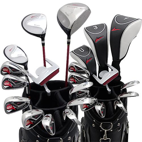 ワールドイーグル G510 + CBX001カートバッグ メンズゴルフクラブ16点フルセット 右用【add-option】
