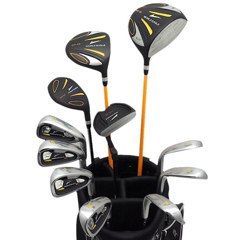 ワールドイーグル 5Z-BLACK メンズゴルフクラブ14点フルセット 4色から選べるバッグ!右用【あす楽】