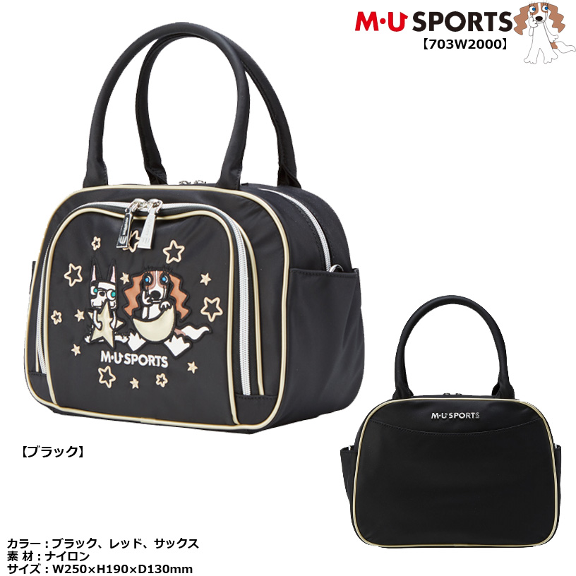 MU SPORTS エムユースポーツ ポーチ 703W2000