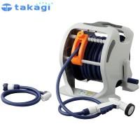 takagi タカギ 園芸散水用品 ホースリール マーキュリーツイスター(NB30m) 代引き不可