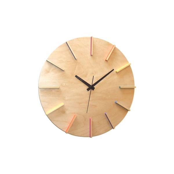 メープルの時計SUN スイープ ナチュラル V-0041