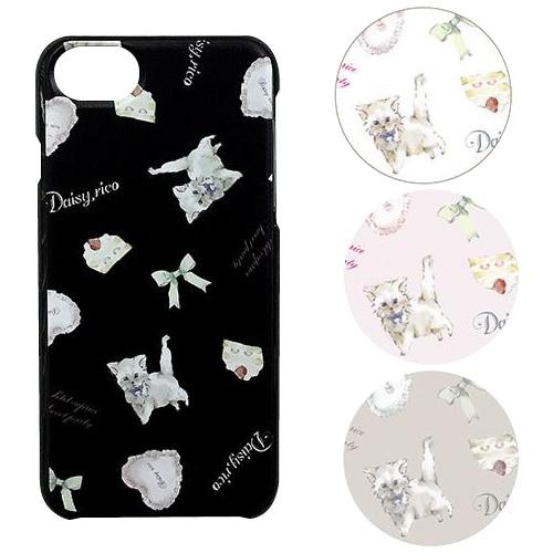 かわいい柄のスマートフォンケース 購買 DaisyRico デイジーリコ キャットミルキー iPhoneケース 6 8対応 DR2-S1 捧呈 7