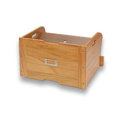 新生活 下駄箱下の空間を有効利用できるボックス 下駄箱下収納ボックス 36cm幅 ライトブラウン ギフト LB GKS-360