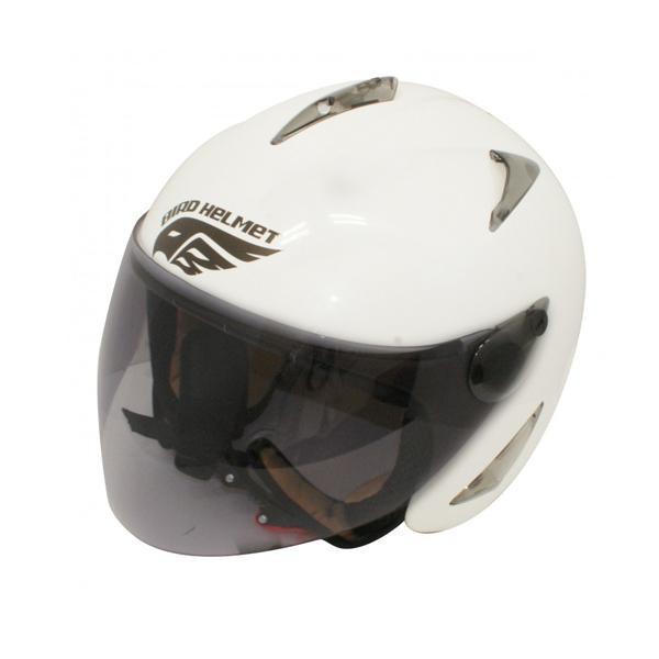 ダムトラックス(DAMMTRAX) BIRD HELMET ヘルメット PEARL WHITE LADYS