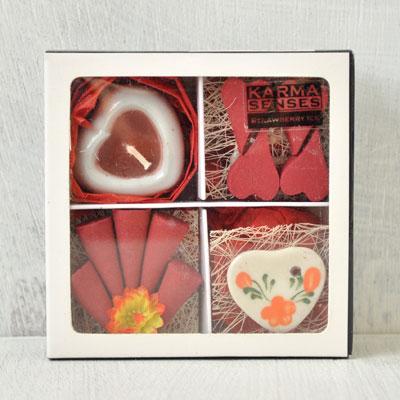 把香竪起來,滾,Kahma界內感覺禮品盒香有蠟燭的安排