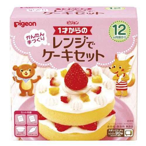 用始自于PIGEON 1歲的範圍蛋糕安排95gx24個Pigeon Baby Cake 4902508133609