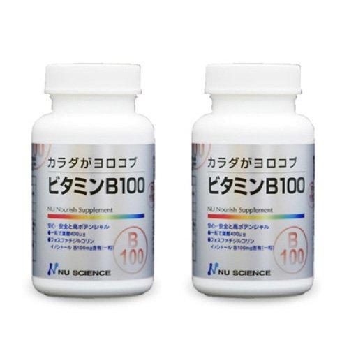 ニューサイエンス カラダがヨロコブ ビタミンB-100 60粒 × 2個セット
