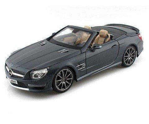 Mercedes Benz SL65 AMG Grey Maisto 1:18 Diecast