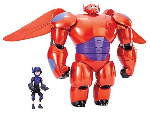 ベイマックス DXフライングベイマックス ヒロ セット Deluxe Flying Baymax Hiro Action Figures Big Her