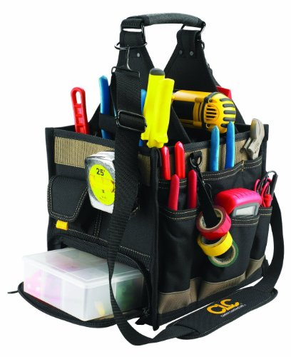 カスタムレザークラフト 23ポケット 電気工事・メンテナンス ツールバッグ