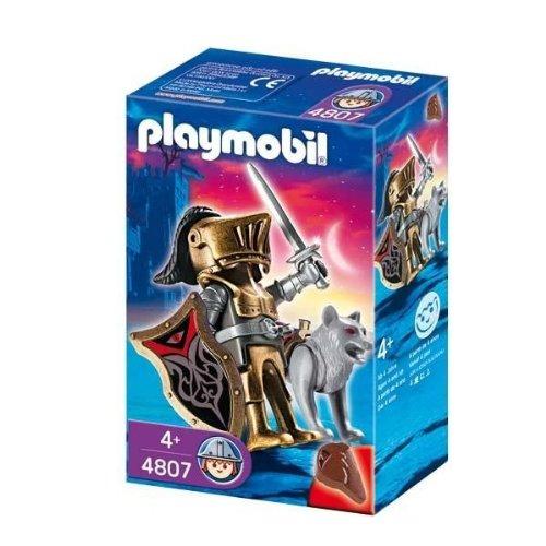 プレイモービル playmobil オオカミ騎士団 剣士 4807