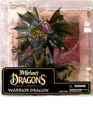 【マクファーレン ドラゴンフィギュア】【シリーズ6】ウォーリアードラゴン