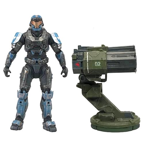 Halo Reach Warthog Rocket Launcher With Spartan JFO Figure