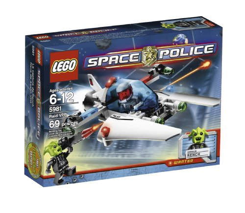 LEGO Space Police 5981 Raid VPR レゴ スペースポリス