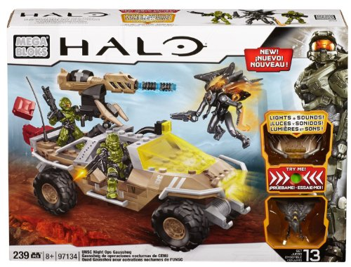 Mega Bloks メガブロック Halo ヘイロー UNSC Night Ops Gausshog