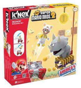 Nintendo K'NEX (ケネックス) Super Mario (スーパーマリオ) Building Set: Reznor ブロック おもちゃ