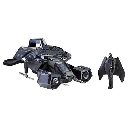 バットマン ザダークナイトライズ ザ・バットウィズローンチ&アタックバットマン フィギュア/ビークル (X