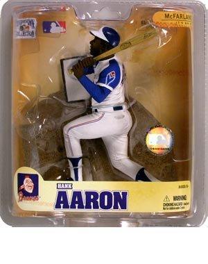 マクファーレントイズ MLB クーパーズタウン シリーズ5 ハンク・アーロン ミルウォーキー・ブリ