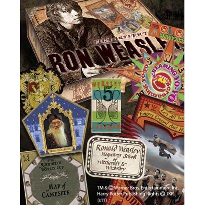 ハリーポッター コレクションボックス(レプリカセット) ロン・ウィーズリー