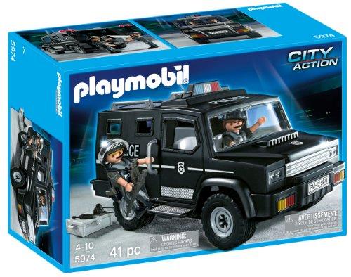 プレイモービル ポリス ユニットカー