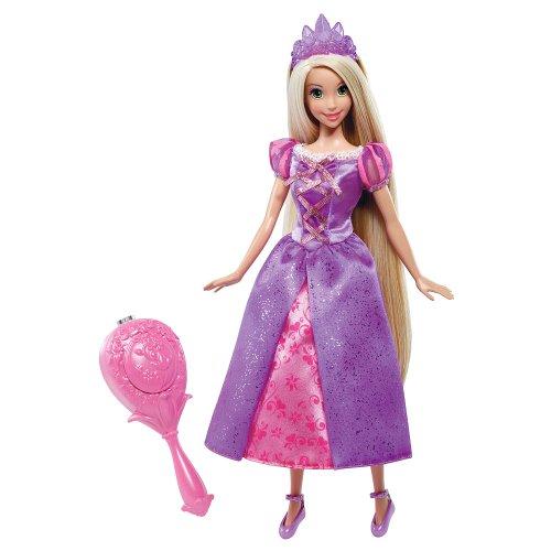 ディズニープリンセス「塔の上のラプンツェル」あら不思議?クシでとかすと髪の色が変わるカラーマジック