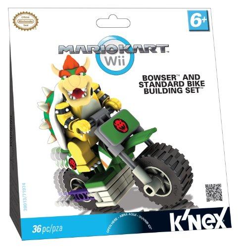 マリオカート ブロック ビルディングセット Mario Kart Wii Bike Building Set クッパとスタンダードバ