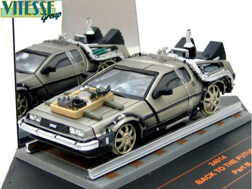 ・【サンスター/ビテス】(1/43)デロリアン DMC 12 「Back to the Future」Part III(Railroad version)(24