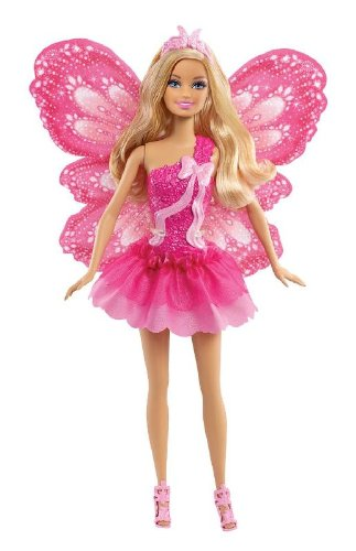 Barbie Beautiful Fairy Barbie Doll バービー 人形 ドール フェアリー プリンセス バタフライ 妖精 ピン