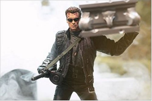 TERMINATOR 3: RISE OF THE MACHINES T-850 TERMINATOR WITH COFFIN