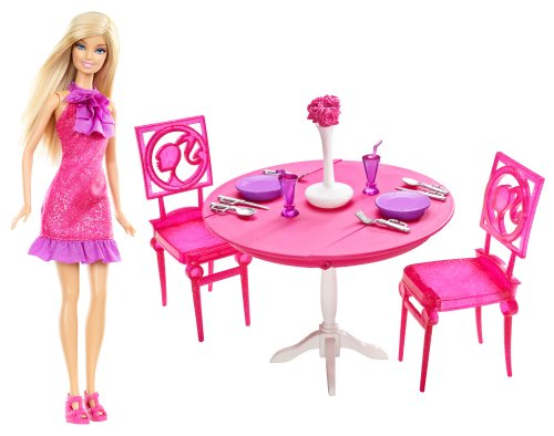 【5%OFF】 バービーMattel Barbie Barbie Doll and and Dining Room Room Gift Set  X4933, 美味しい天ぷらさつま揚げ豊島蒲鉾:33f03c1a --- mediplusmedikal.com