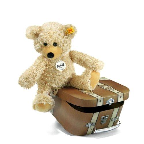 シュタイフ Steiff チャーリー ダングリング テディベア スーツケース 30cm (Charly dangling Teddy bear
