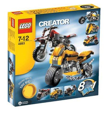 レゴ LEGO クリエイター・モーターバイク 4893