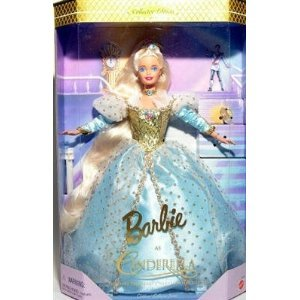 Barbie バービー As Cinderella - Barbie バービー Doll ドール By Mattel Children's Series 1997