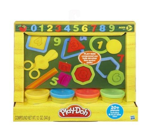 Play-Doh 【プレイ・ドー】 粘土で楽しく数字・図形遊び