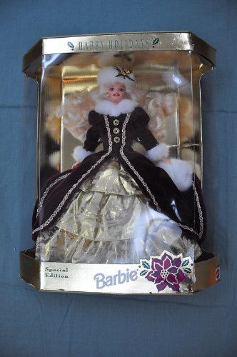 HAPPY HOLIDAYS Barbie 1996 Special Edition