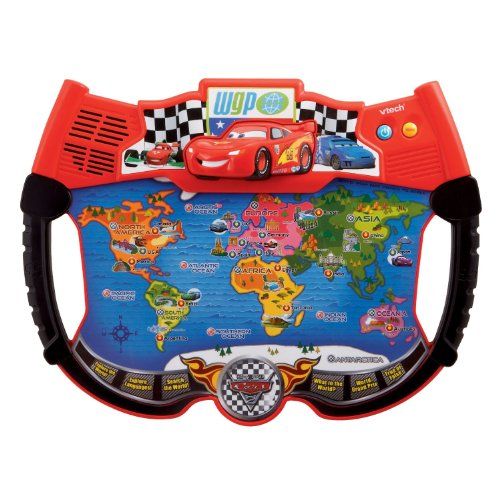 VTECHディズニーカーズライトニングマックィーンアトラス世界地図