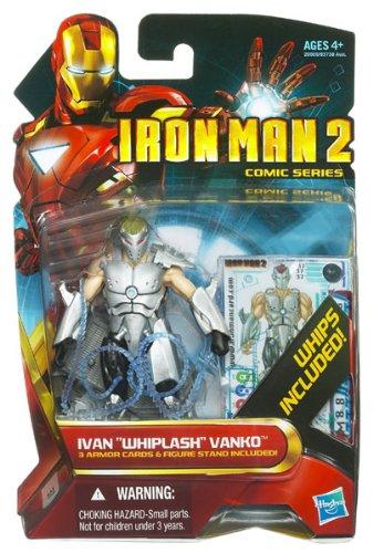 アイアンマン2/3.75インチ アクションフィギュア/037 コミックシリーズ/ウィップラッシュ イワン・ヴァン