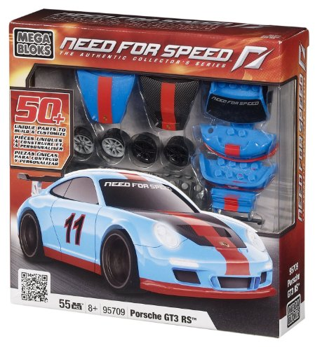 Megabloks メガブロック Need for Speed Build & Customize Porsche ポルシェ 911 GT3 RS