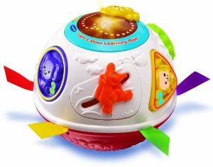 VTech Light & Move Learning Ball, Red おもちゃ