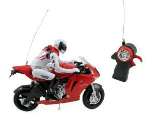 RC Speed Motorcycle Remote Control Motor Bike Racer for Kids with Rider 1:22 Scale おもちゃ