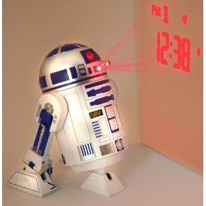Star Wars R2D2 Projection Alarm Clock 目覚まし時計(時刻投影)海外限定