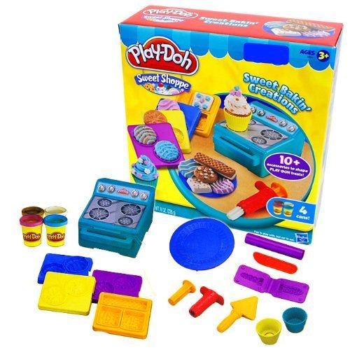 [プレイ・ドー]Play-Doh Sweet Bakin' Creations/スイート ベイキン クリエーションズ ねんどセット 小麦