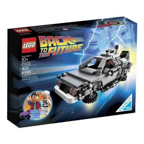 LEGO(レゴ) 21103 The DeLorean Time Machine Building Set バックトゥザフューチャーデロリアン・タイム